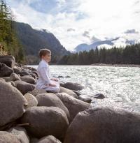 Isana rock meditation